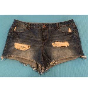 Denim Shorts Forever 21 +